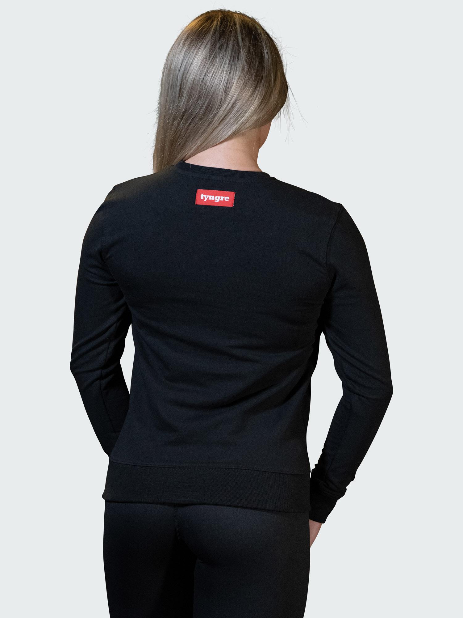 Sweatshirt Work Womens Black