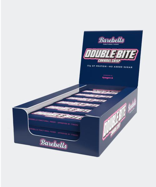 Barebells Double Bite Caramel Crisp 12-pack