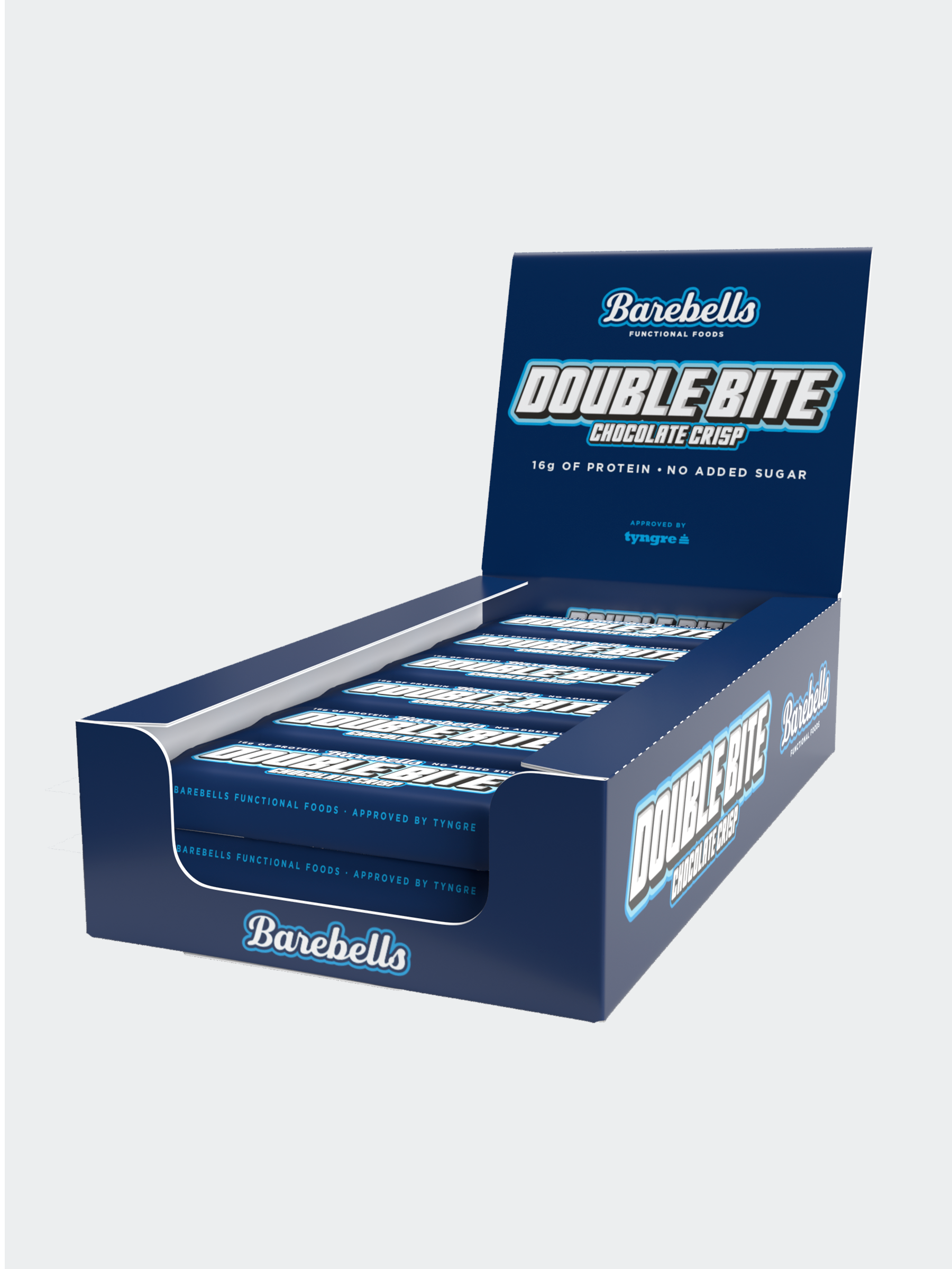 Barebells Double Bite Chocolate Crisp 12-pack