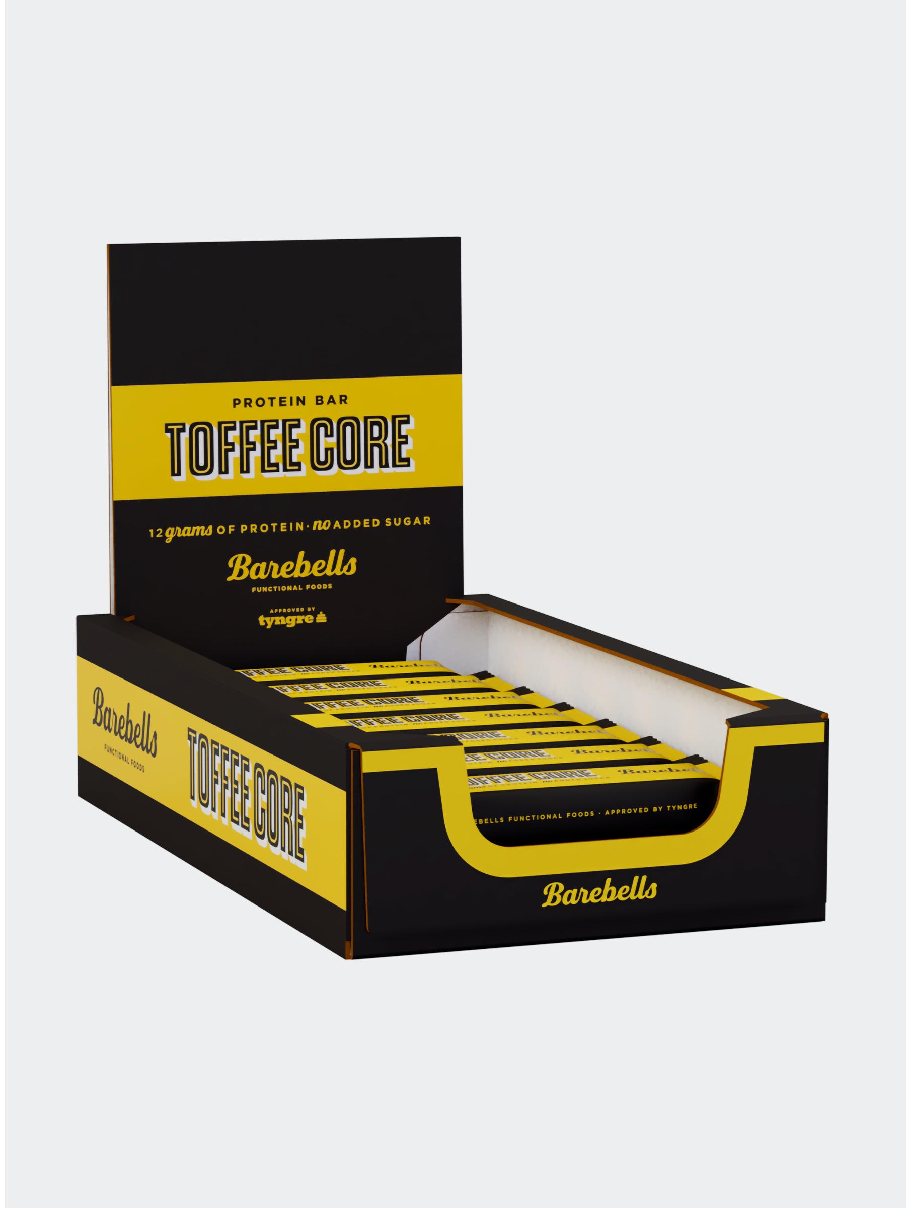 Barebells Core Bar Toffee 18-pack