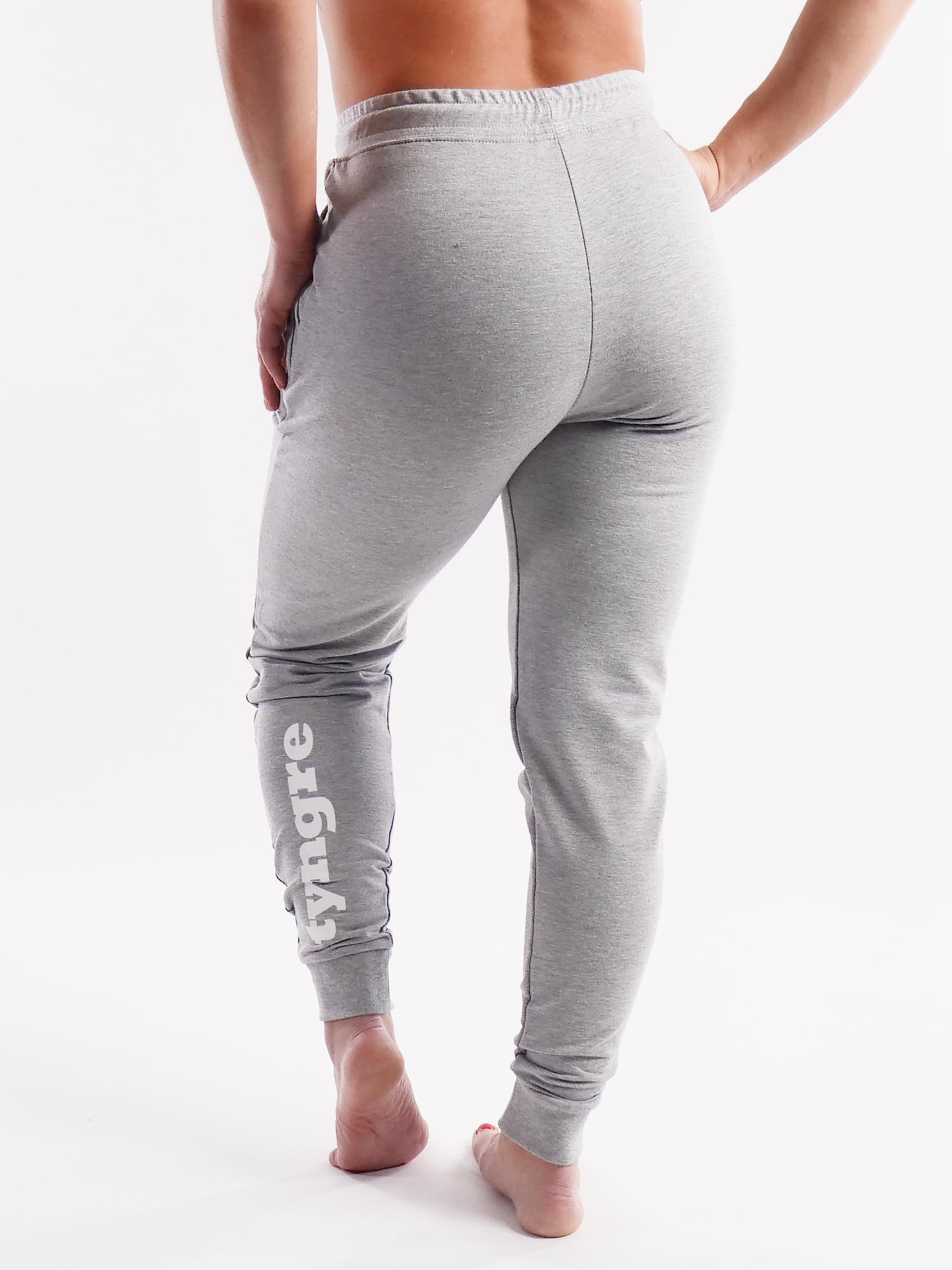 Sweatpants Work Womens Light Gray