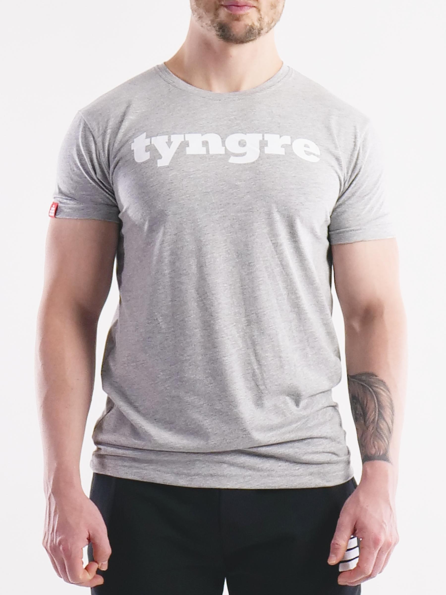 T-Shirt Logo Mens Light Gray