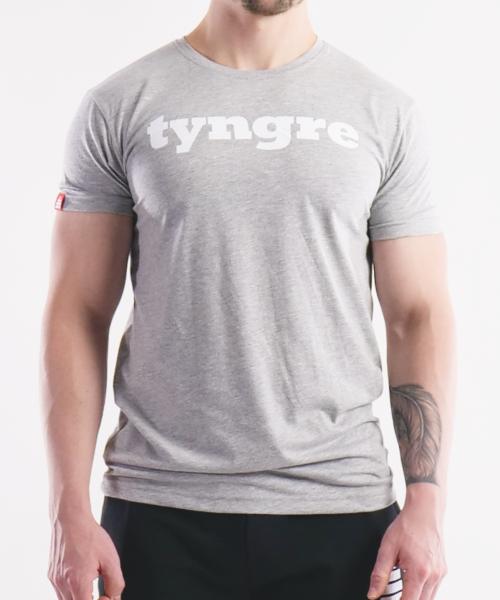 T-shirt light gray tyngre herr