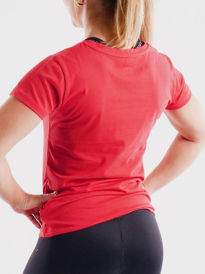 Tyngre_Logo_Tshirt_Red_Womens