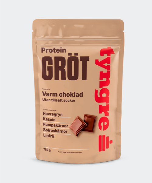Tyngre Grötmix Varm Choklad