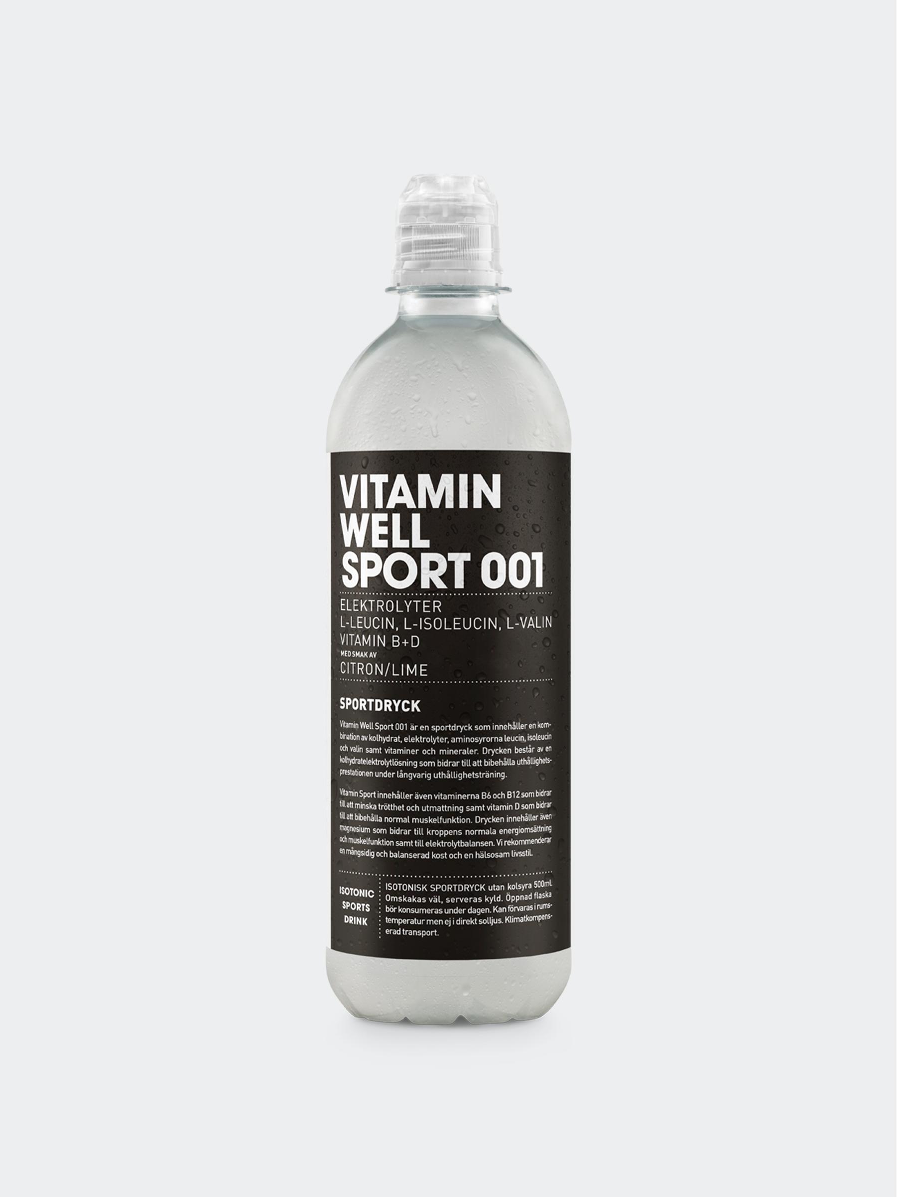 Vitamin Well Sport 001 Styck