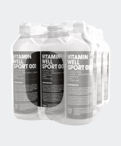 Vitamin Well Sport 001 12-pack