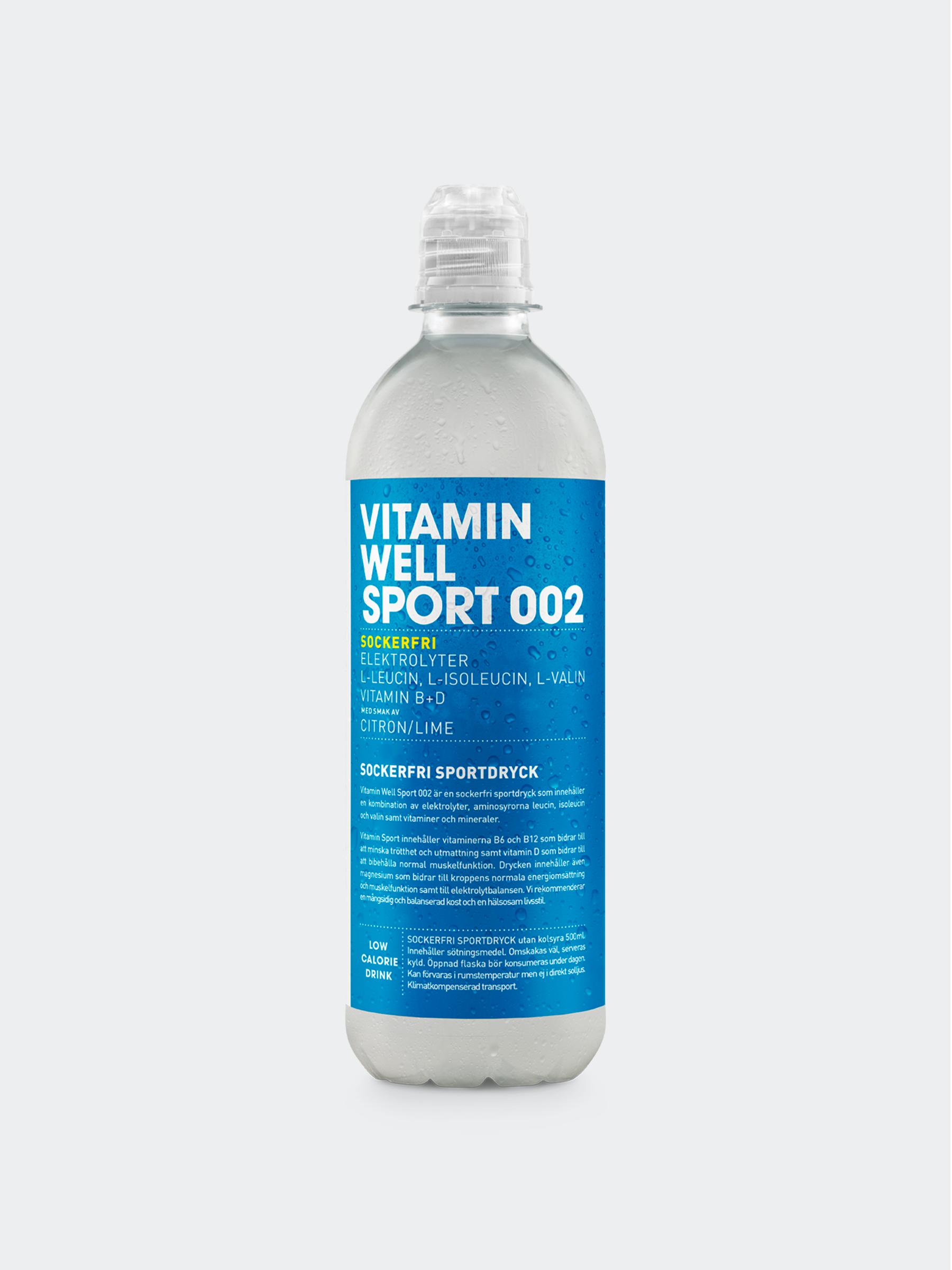 Vitamin Well Sport 002 Styck