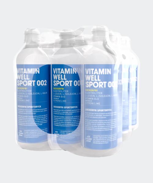 Vitamin Well Sport 002 12-pack