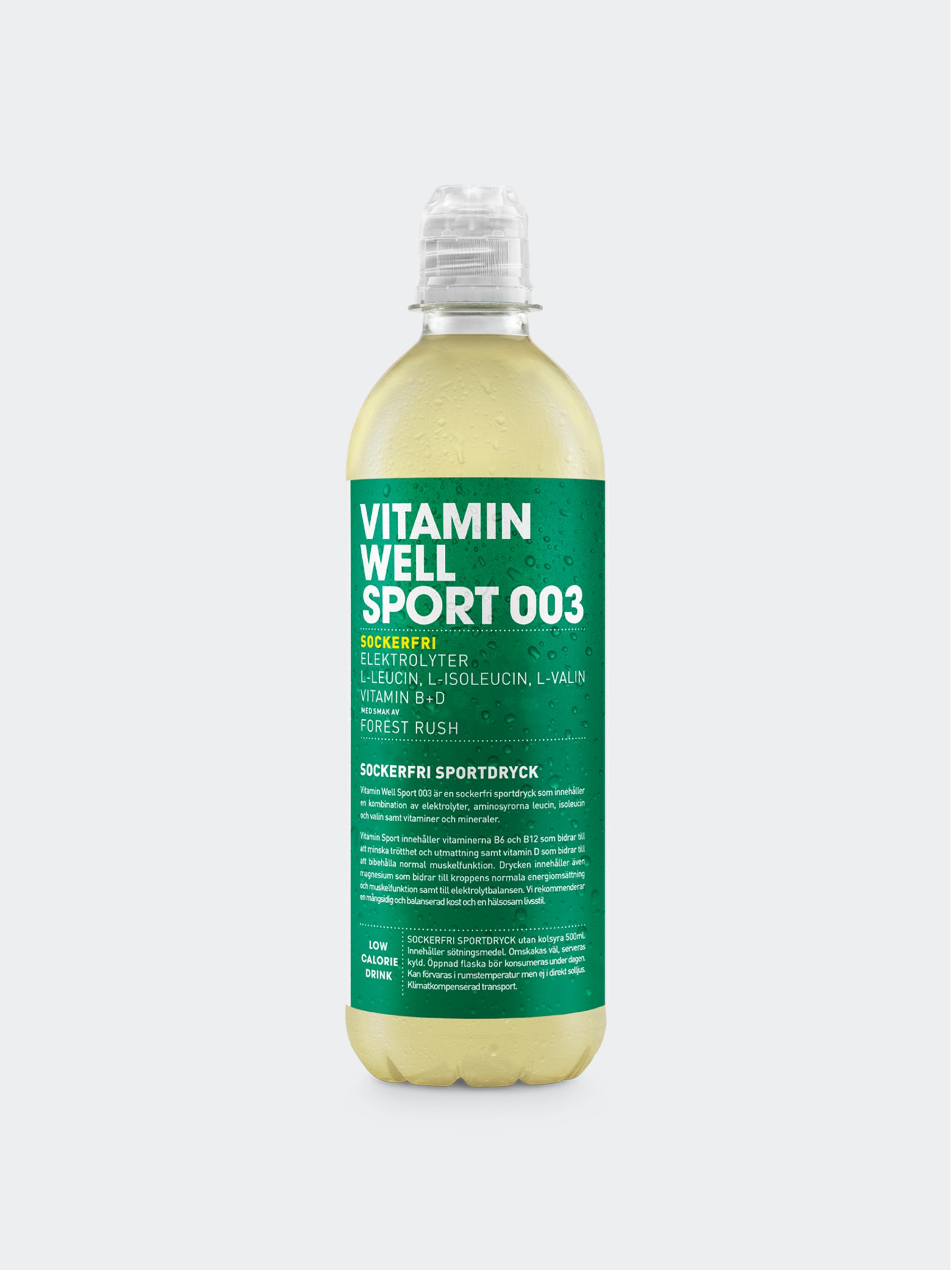 Vitamin Well Sport 003 Styck