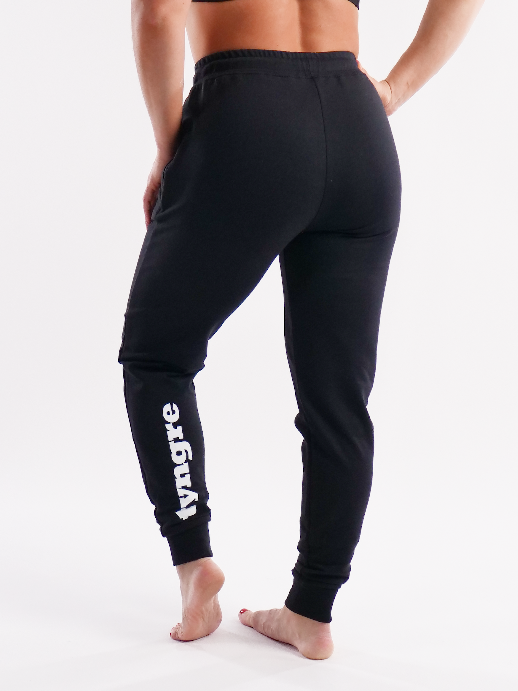 Sweatpants Work Womens Black