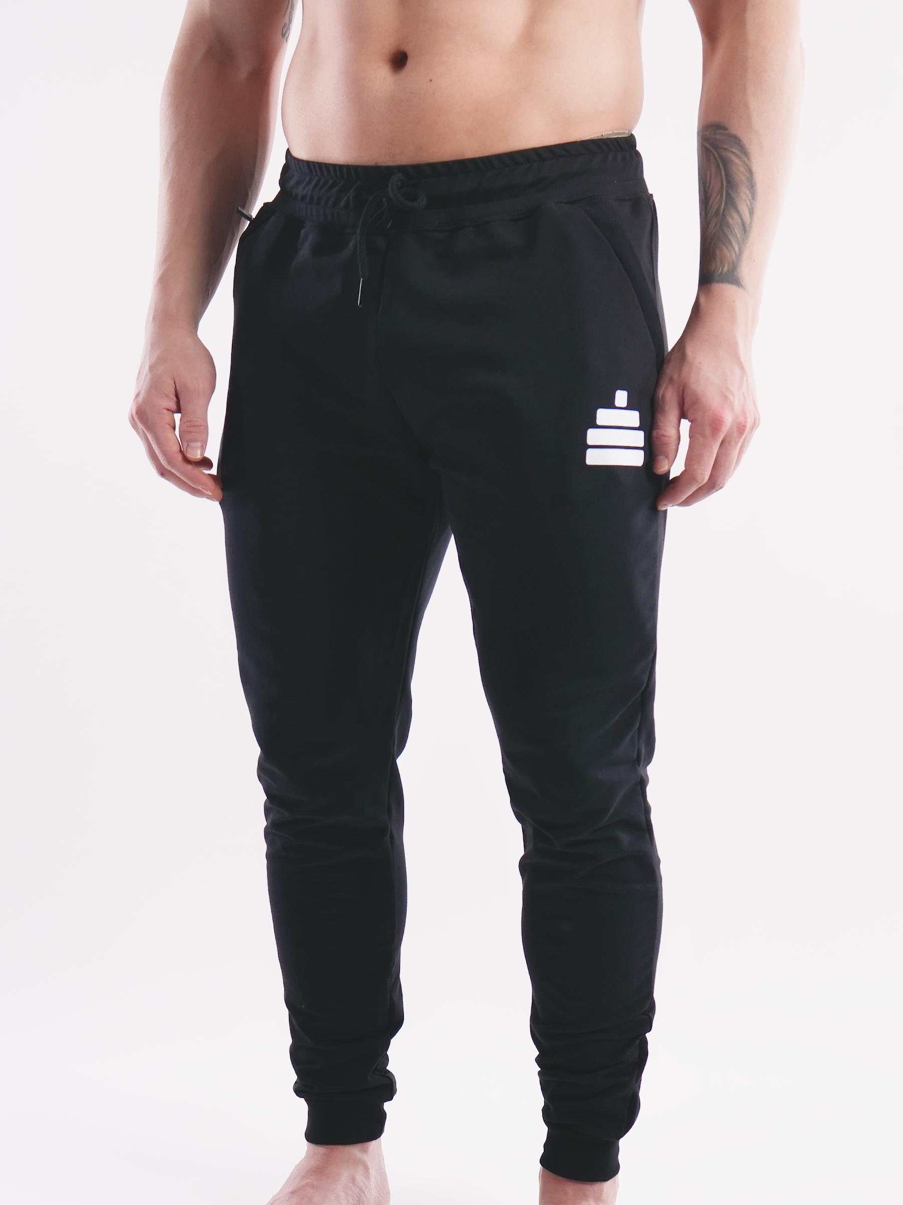 Sweatpants Work Mens Black
