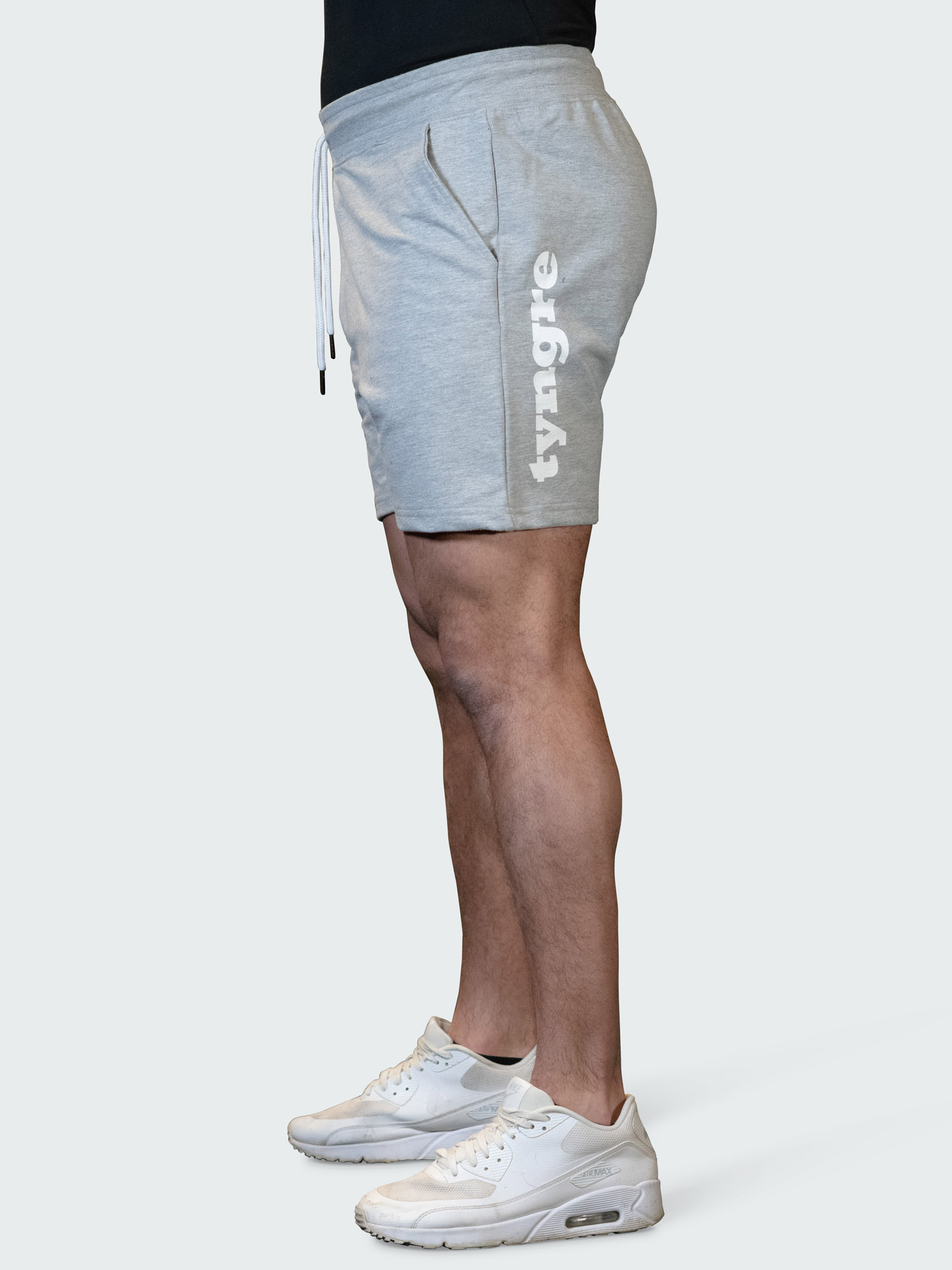 Sweatshorts Work Mens Light Gray