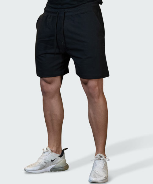 Sweatshorts Work Mens Black