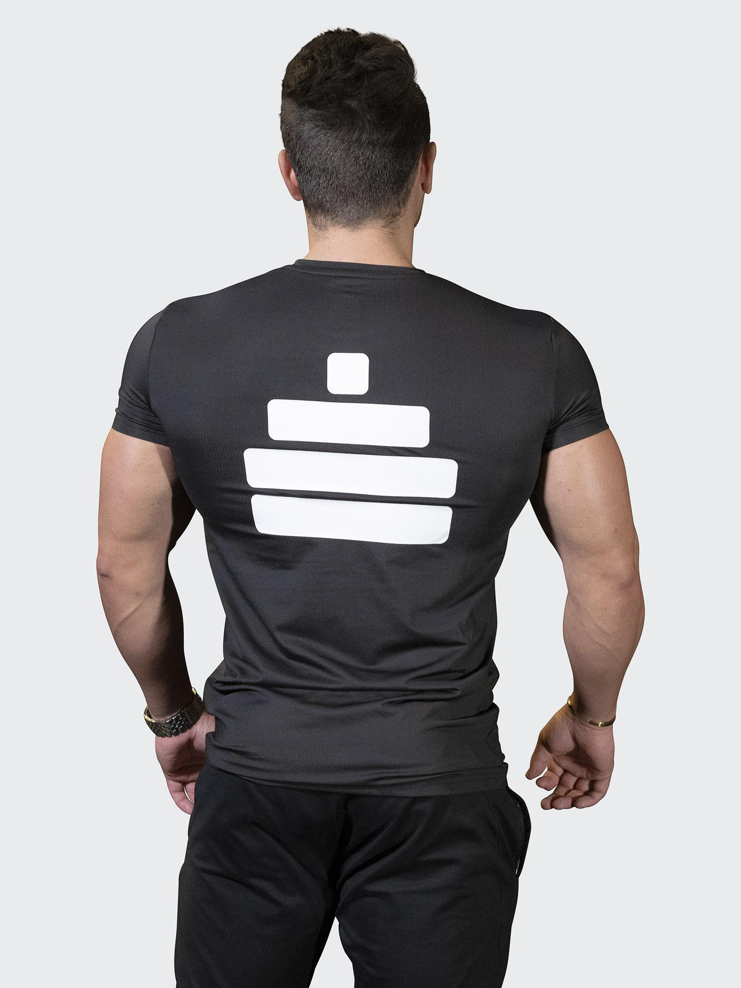 T-Shirt Breathe Mens Black