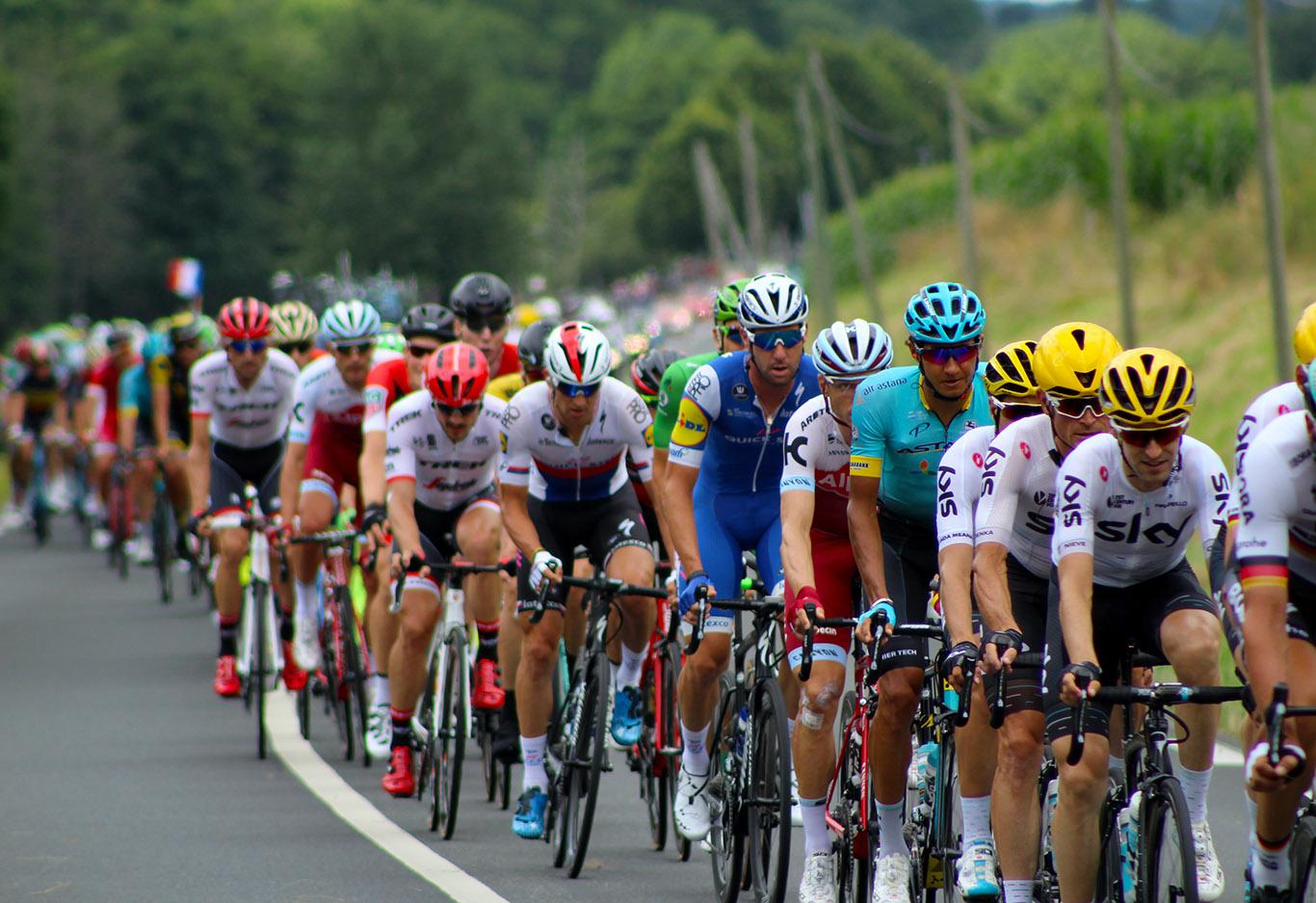 Under Tour de France med Richard Larsén