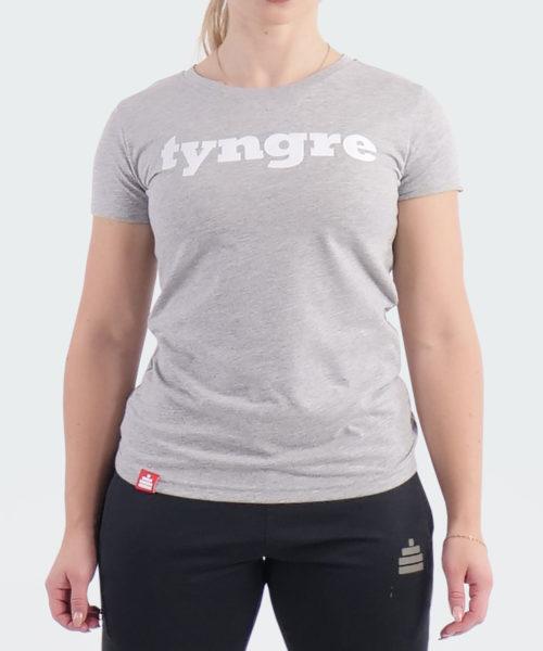 T-Shirt Logo Womens Light Gray