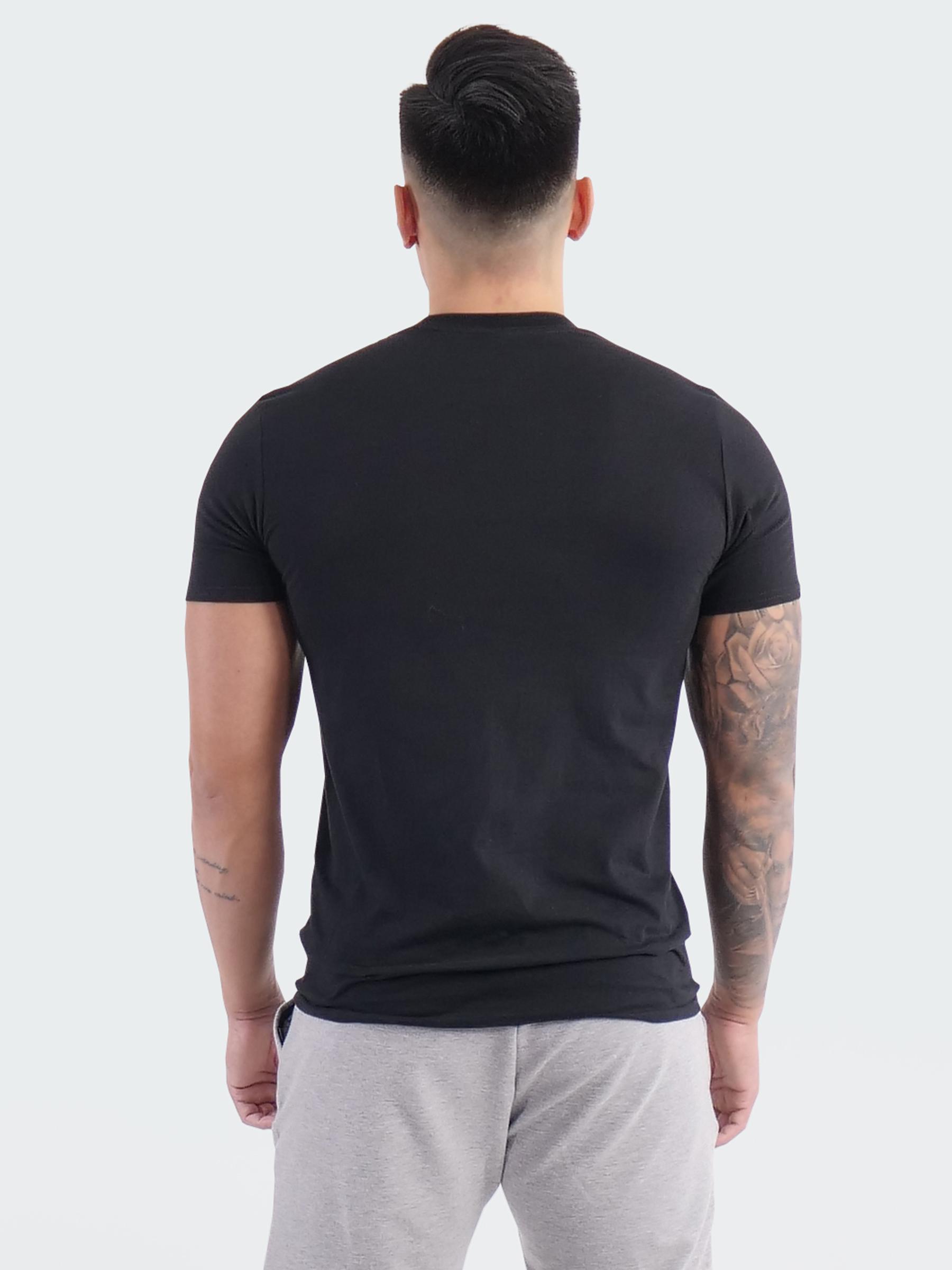 Akta ryggen T-shirt Herr