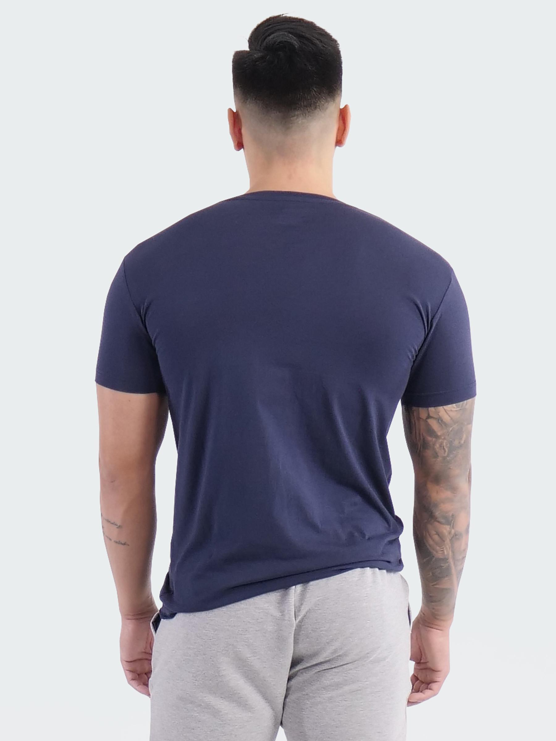 T-Shirt Logo Mens Navy Blue