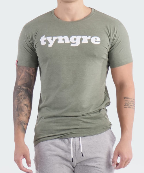 T-Shirt Logo Mens Geen