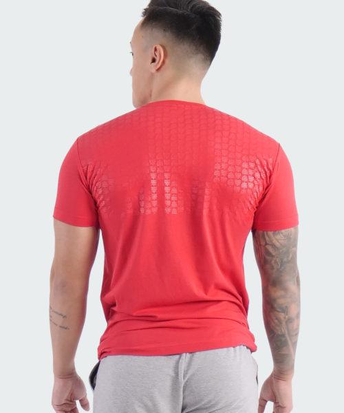 T-Shirt Power Mens Red