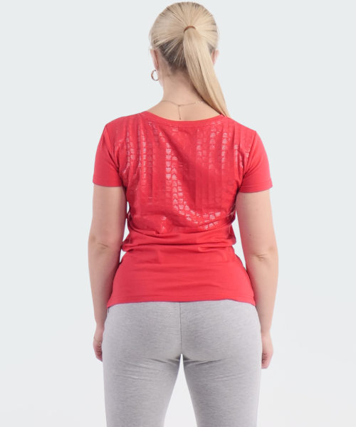 T-Shirt Power Womens Red