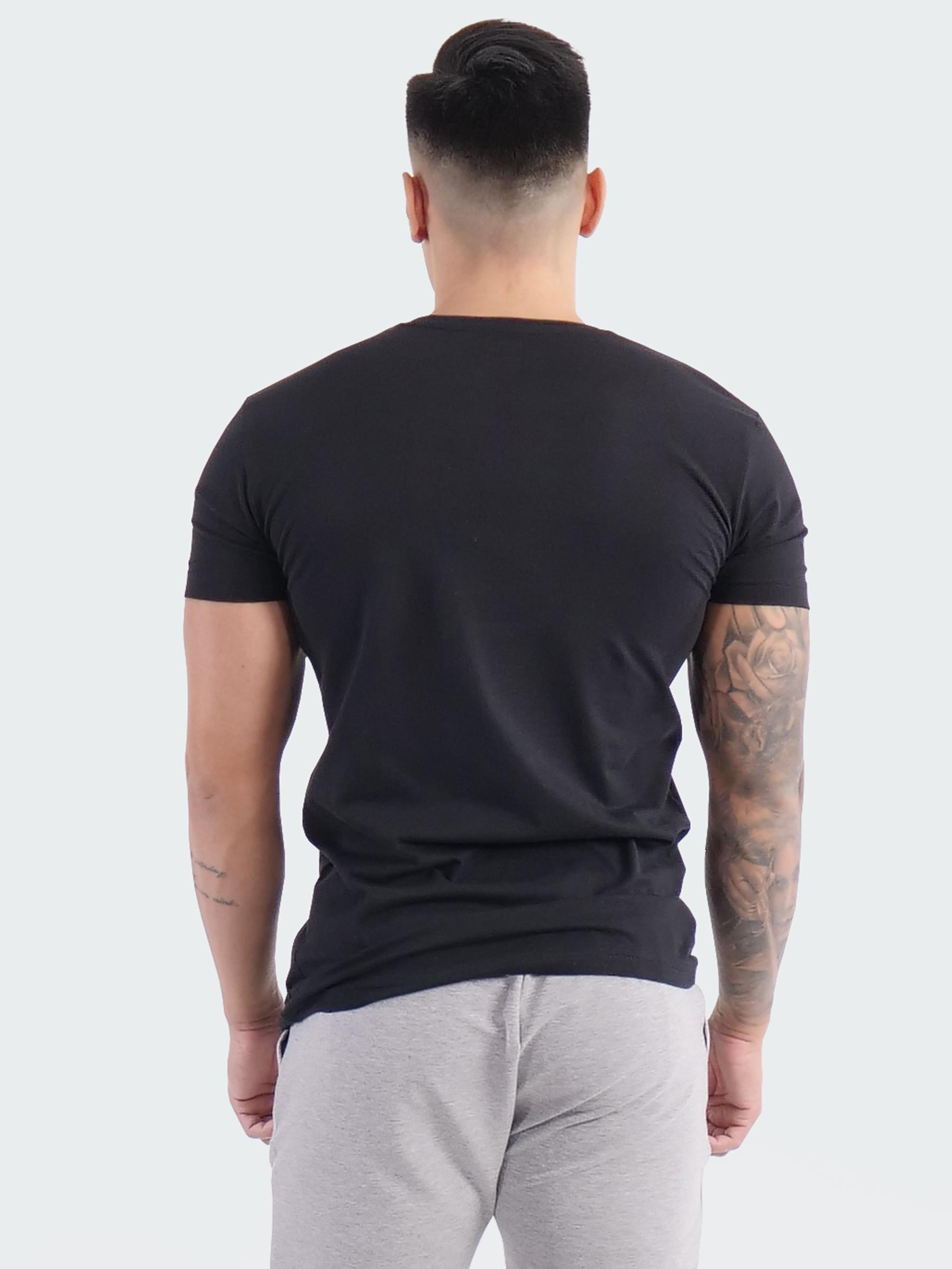 T-Shirt Logo Mens Black