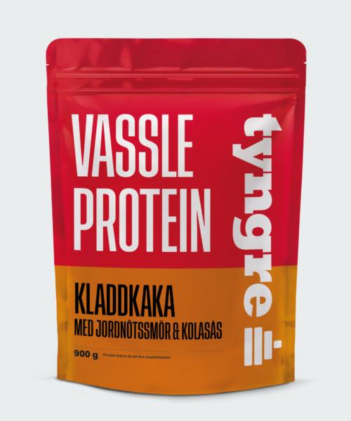 Tyngre Vassle Kladdkaka med Jordnötssmör och Kolasås