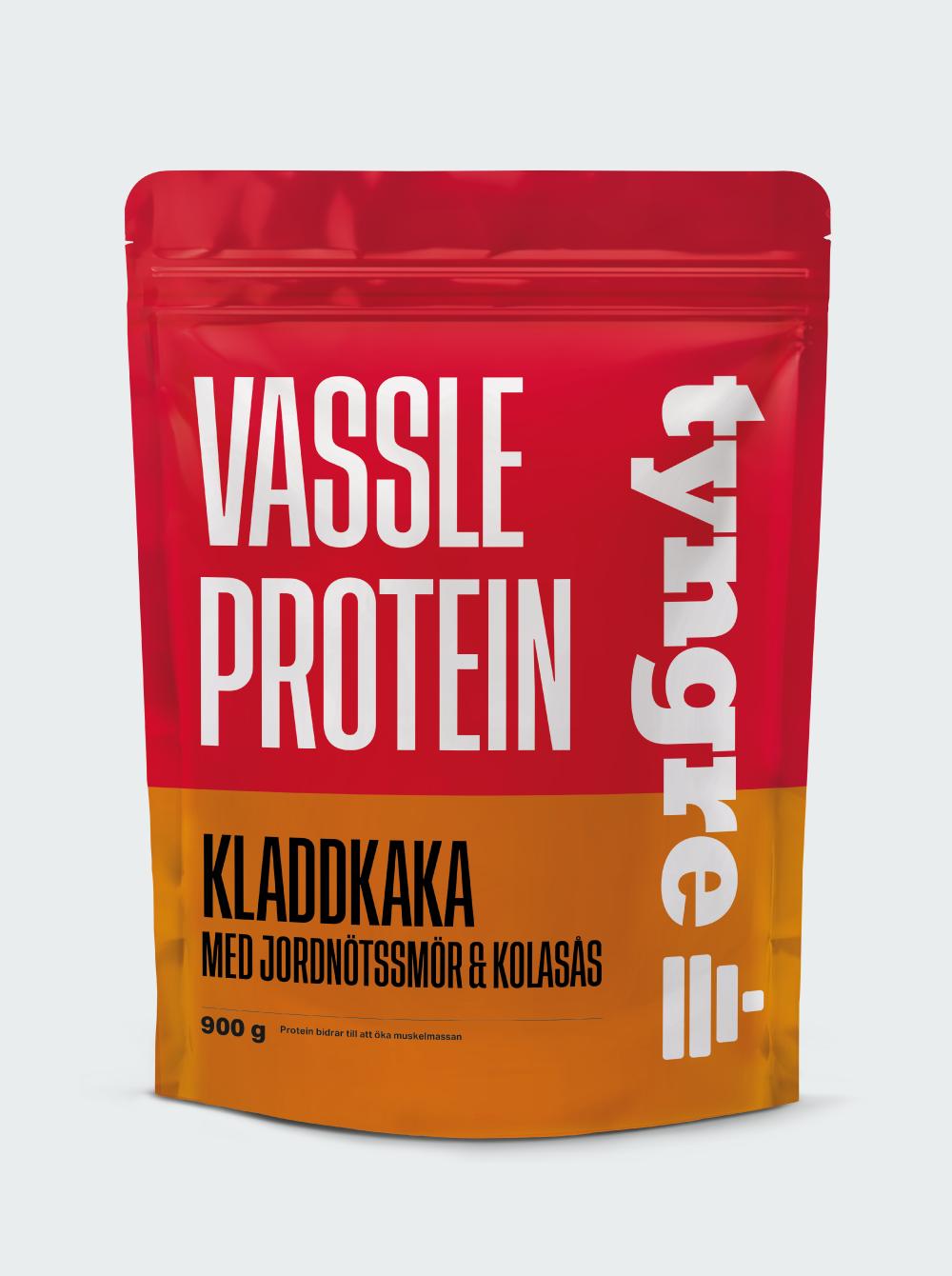 Vassle Kladdkaka med jordnötssmör och kolasås 900 g
