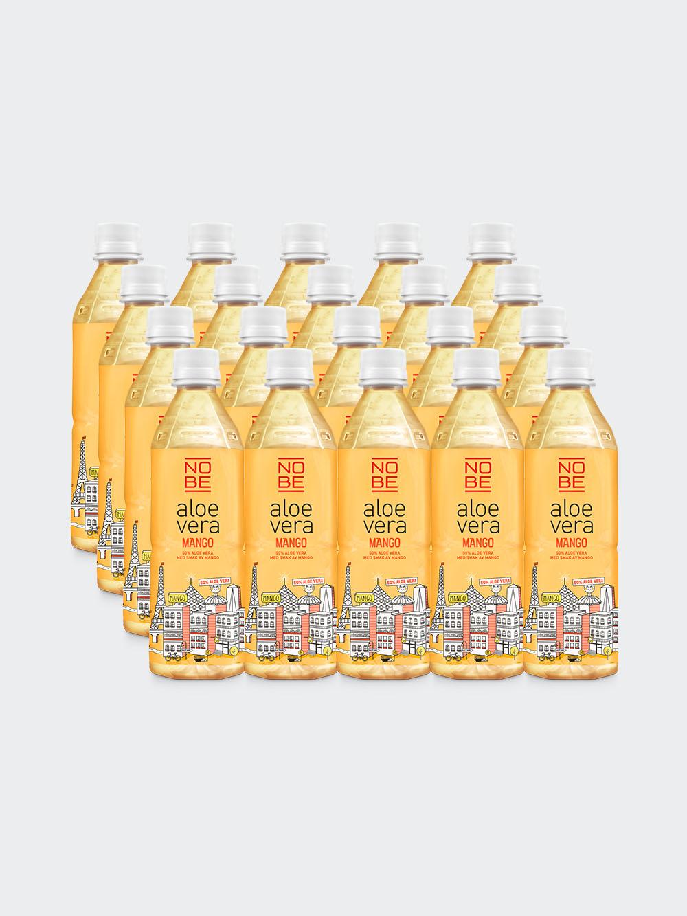 NOBE Aloe Vera – Mango 20-pack