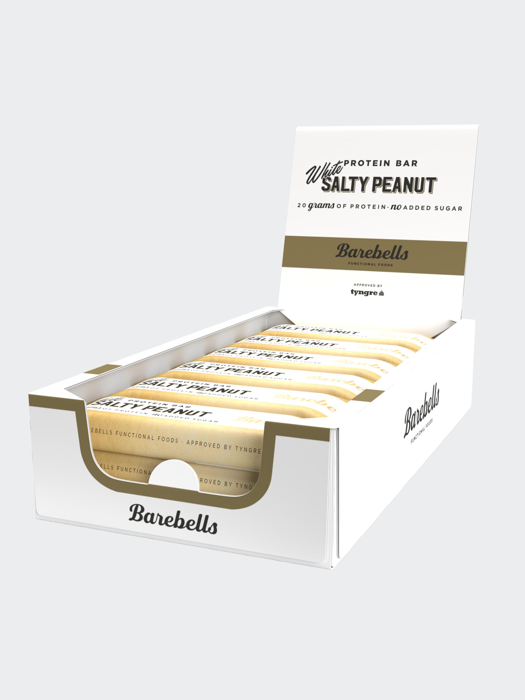 Barebells White Salty Peanut 12-pack