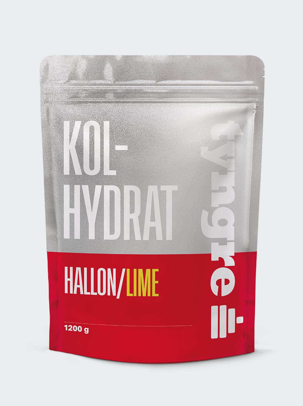 Kolhydrat Hallon/Lime 1200 g