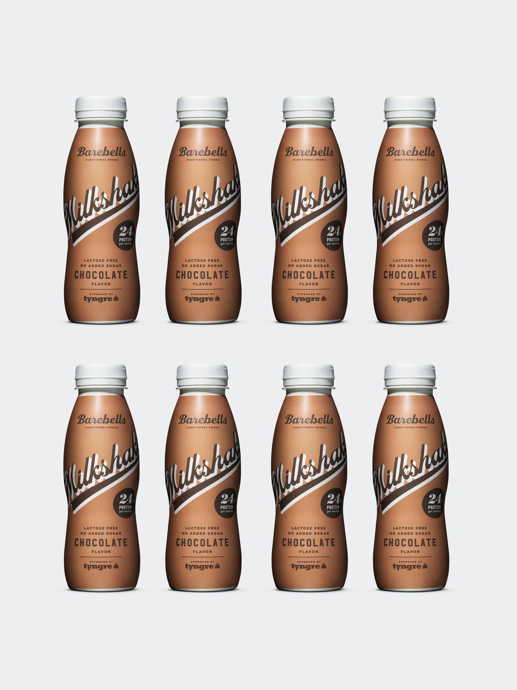 Barebells Milkshake Chocolate 8-pack