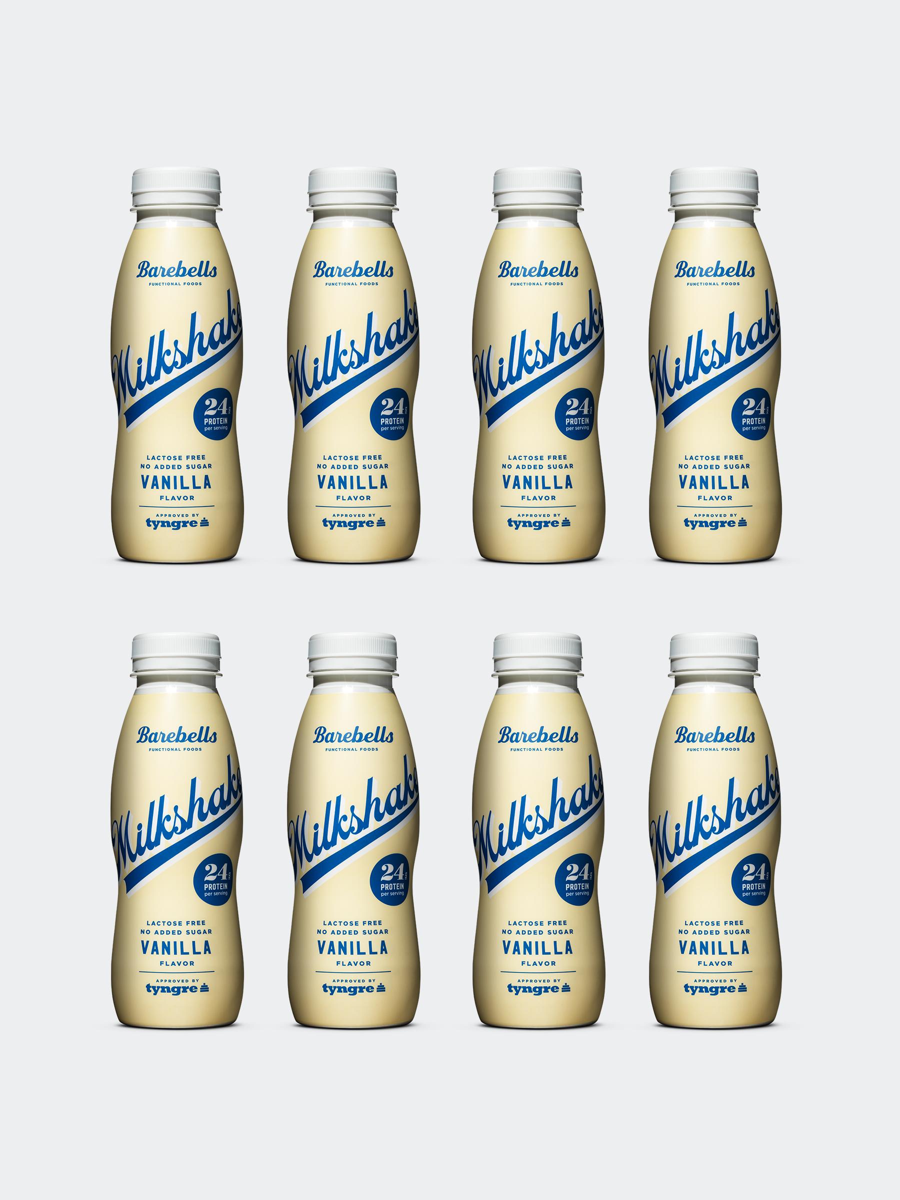 Barebells Milkshake Vanilla 8-pack