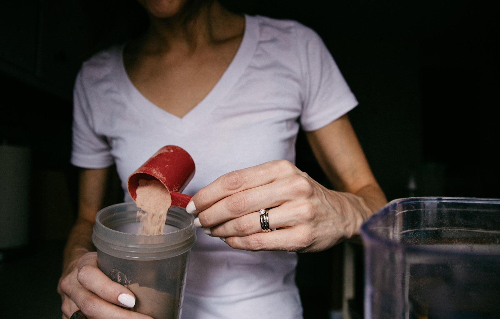 Protein och kolhydrater vid träning