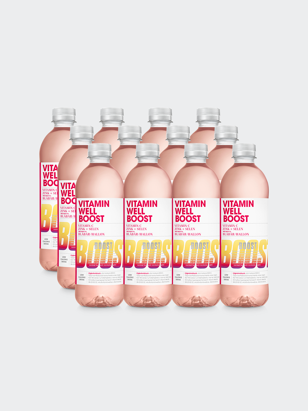 Vitamin Well Boost 12-pack