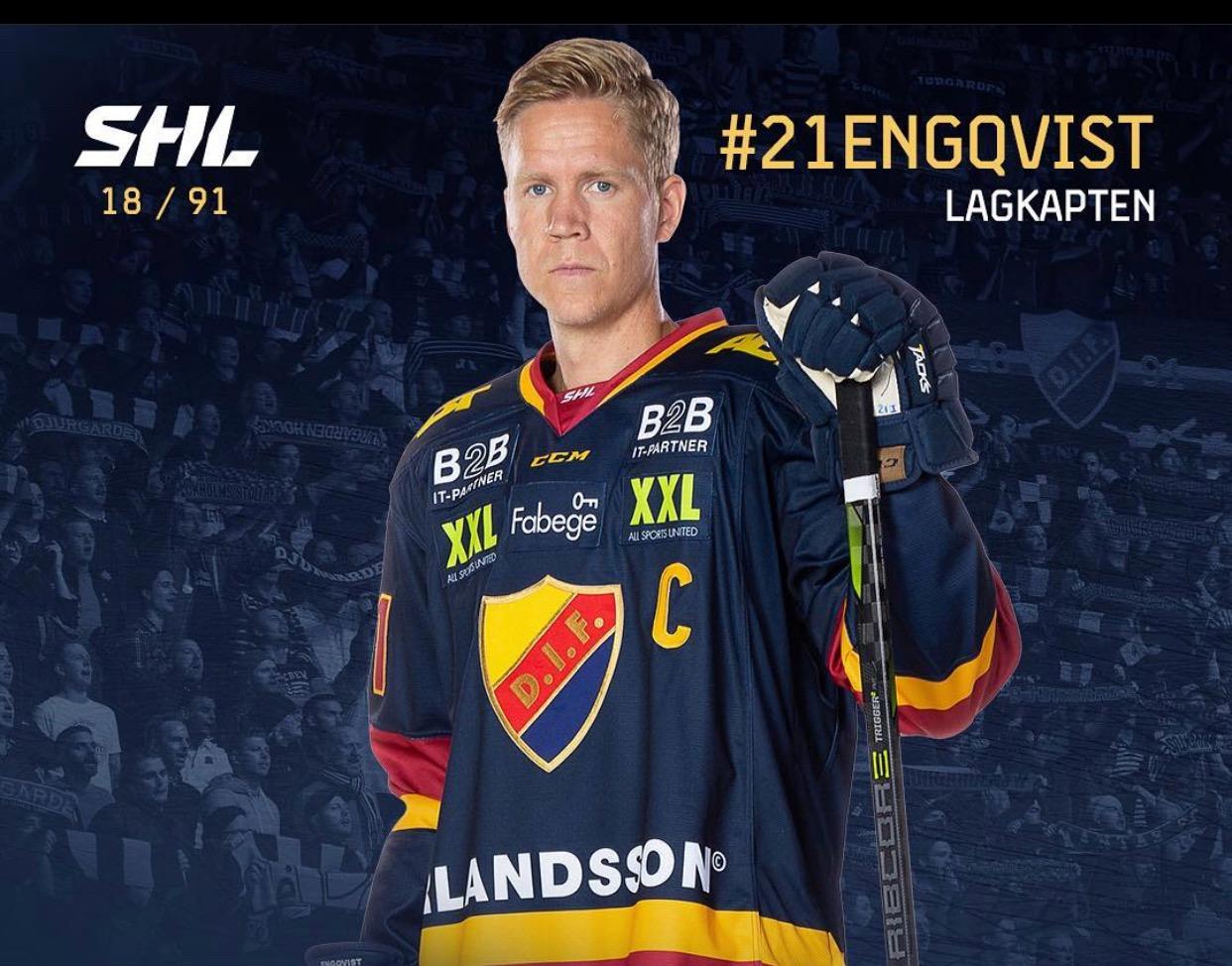 Hjärnskakningar – intervju med hockeyspelaren Andreas Engqvist