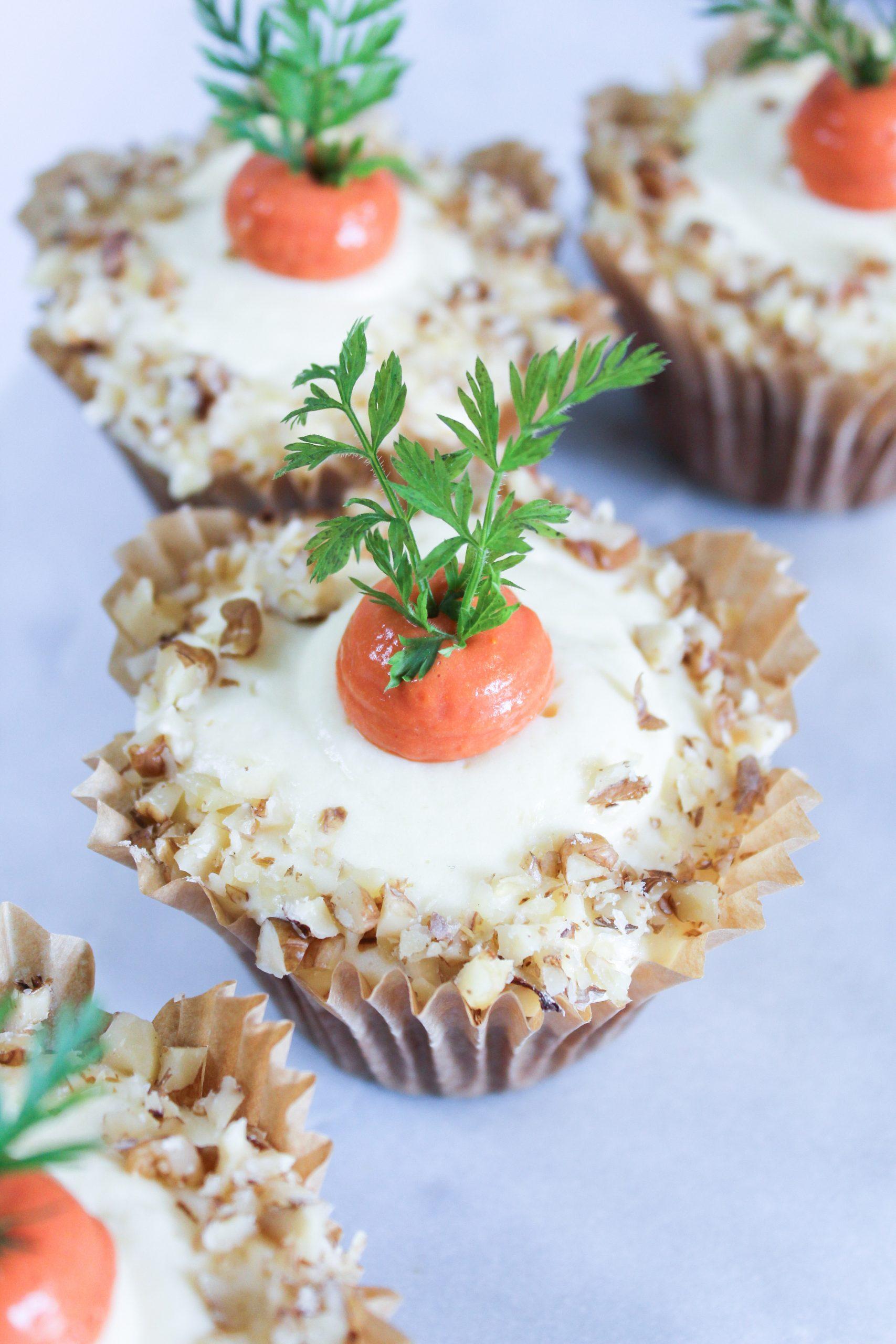proteinrika morotscupcakes