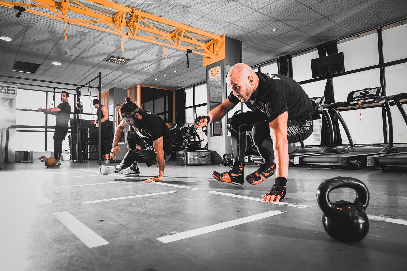 Lättare och tuffare träning