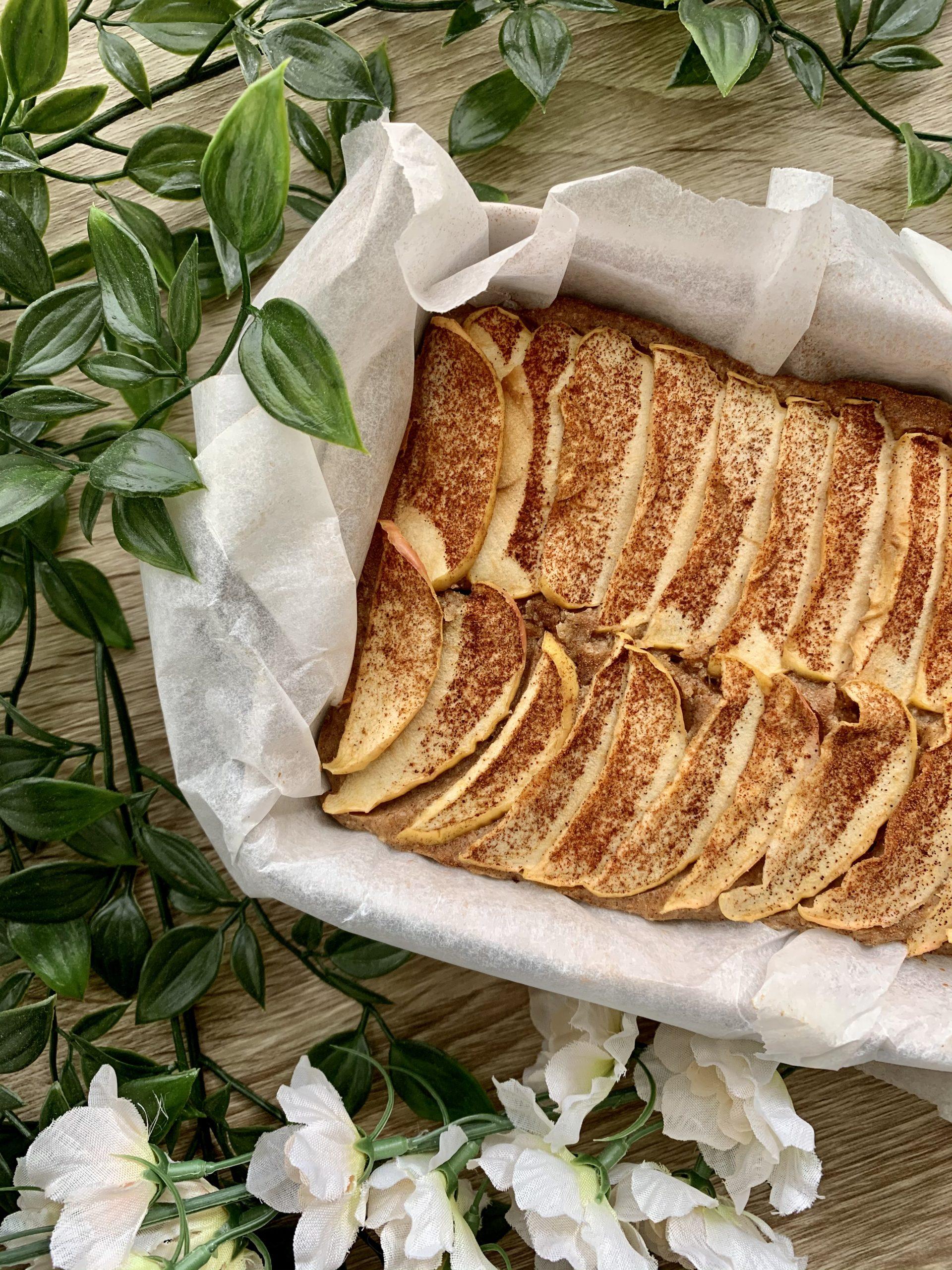 proteinrik äppelkaka