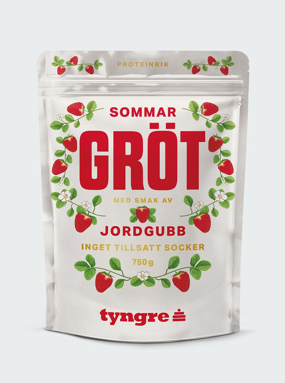 Mannagrynsgröt med jordgubbar 750 g
