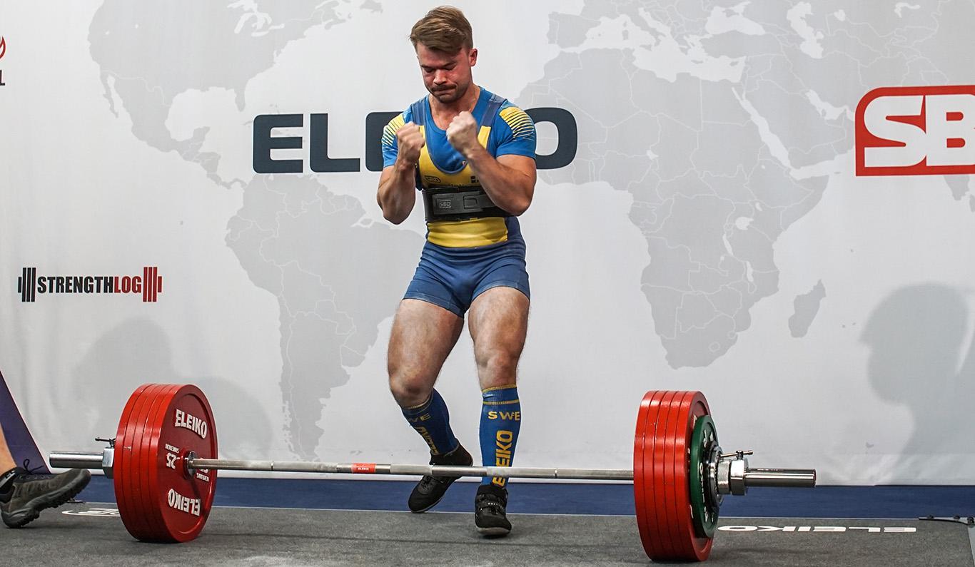 Josef om VM i styrkelyft