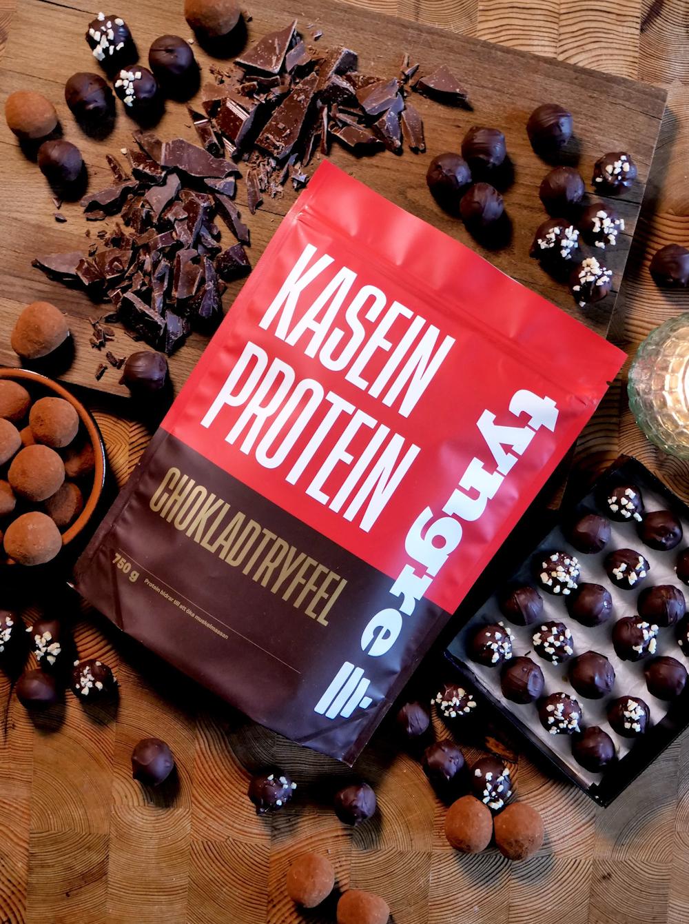 Kasein Chokladtryffel