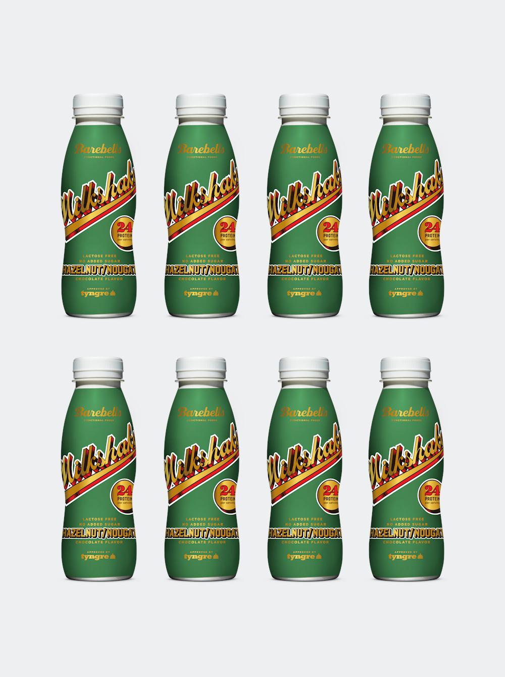 Barebells Milkshake Hazelnut Nougat 8-pack