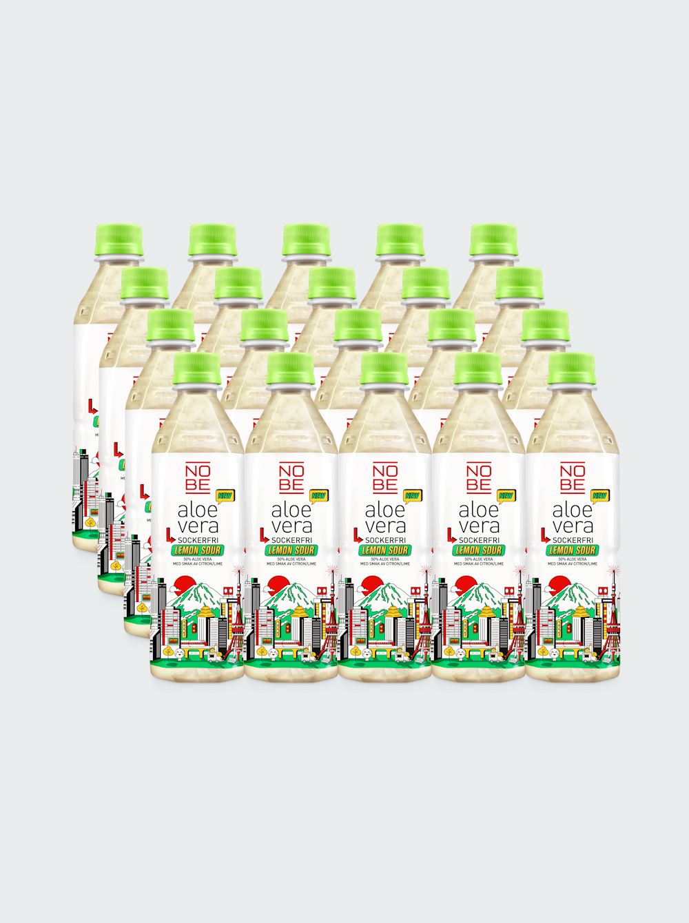 Nobe Aloe Vera – Lemon Sour Sockerfri 20-pack