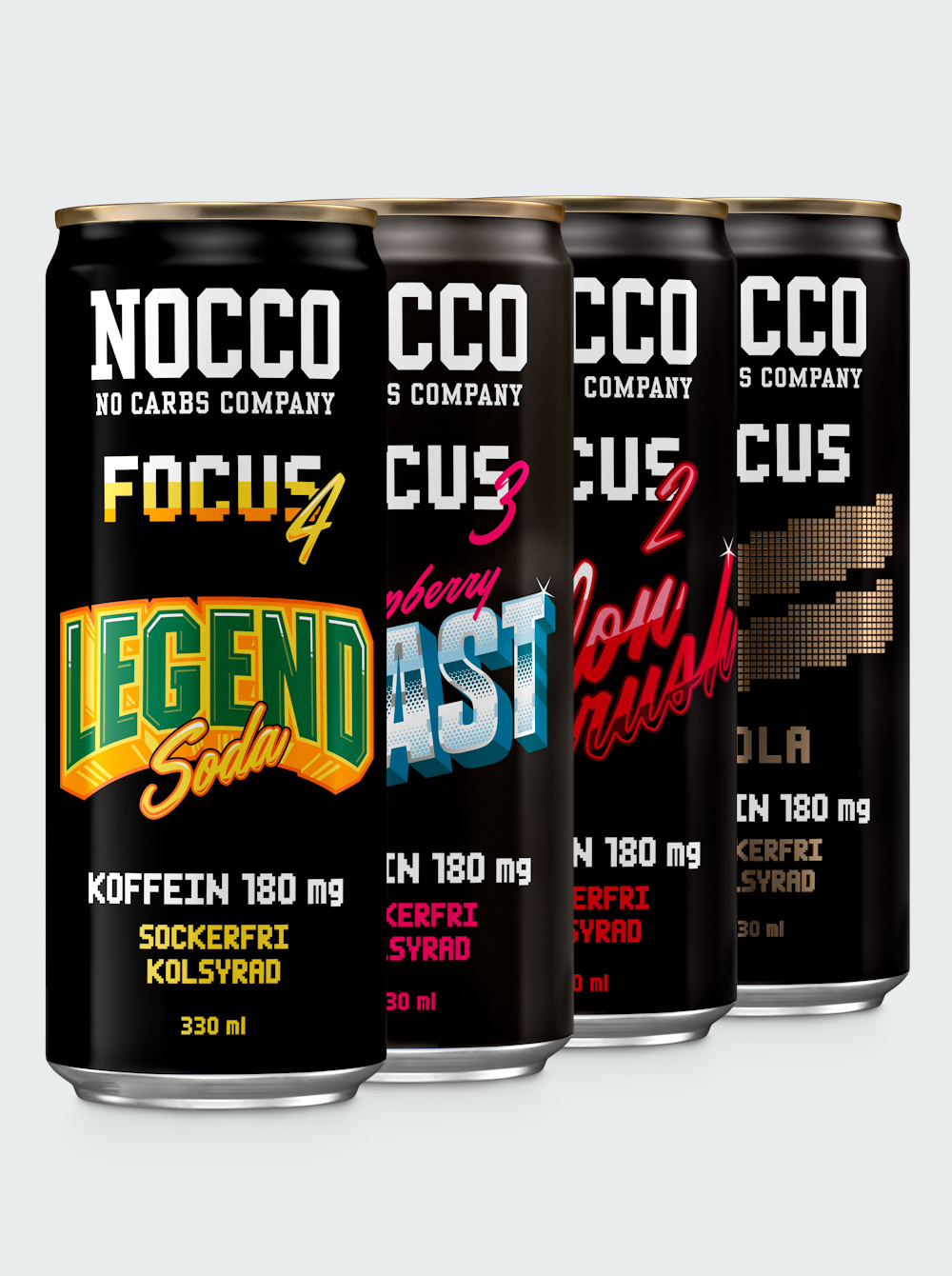 NOCCO Focus Mix