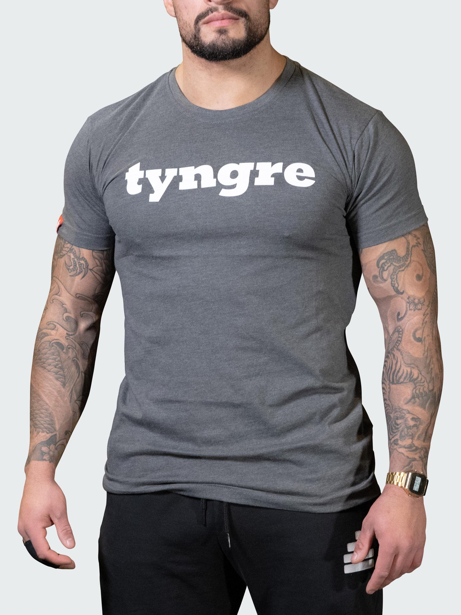 T-Shirt Logo Mens Dark Gray