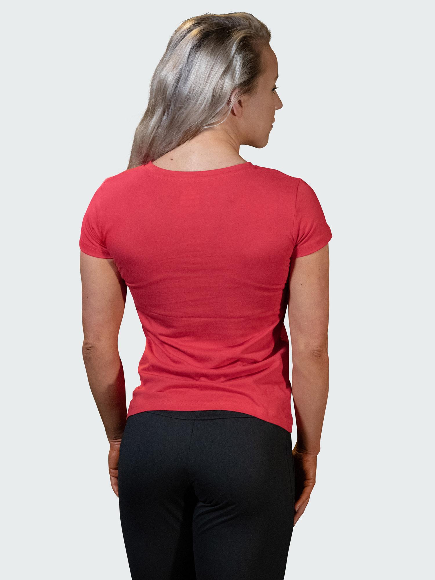 T-Shirt Logo Womens Red