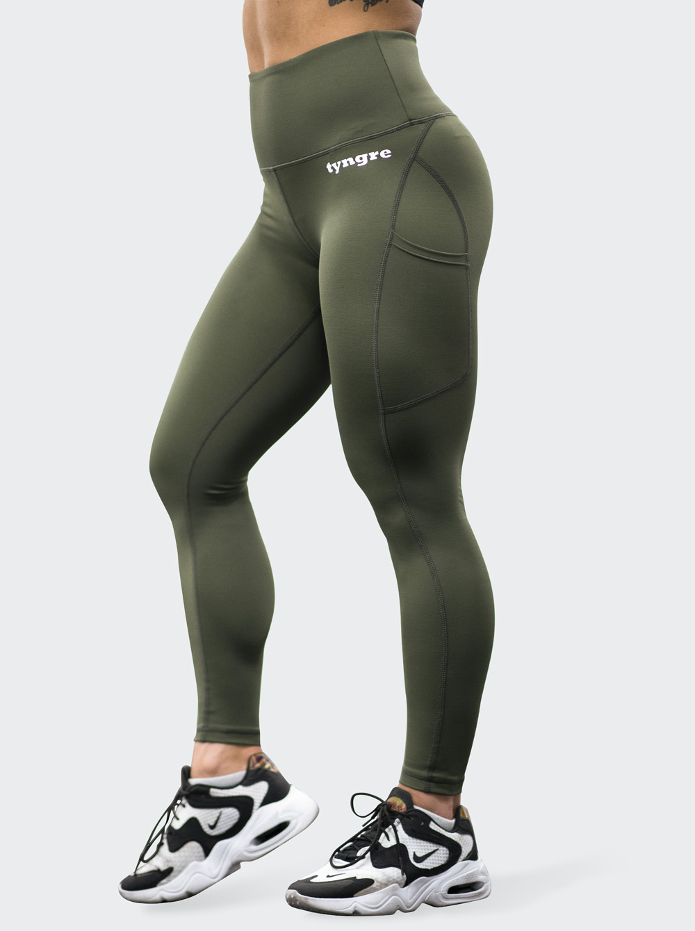 Tights Legend Army Green 7/8