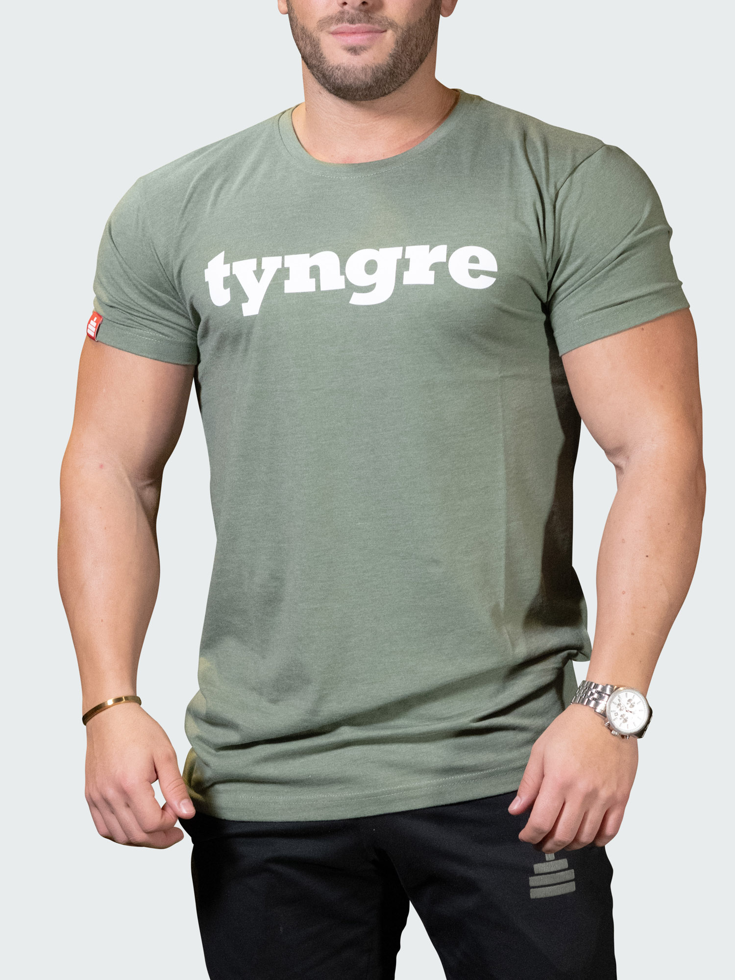 T-Shirt Logo Mens Green